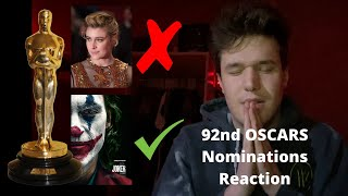2020 Oscar Nominations REACTION!!!
