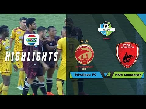 Full Highlight: Sriwijaya FC (0) vs (0) PSM Makassar   Go-Jek Liga 1 bersama Bukalapak