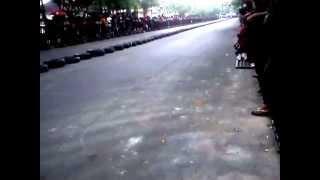 Drag bike TULUNGAGUNG kawasaki ninja 2 tak 25 05 2014
