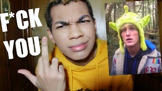 My Response to Logan Paul's Suicide Forest Video. (Logan Paul Just Ended His Career.)