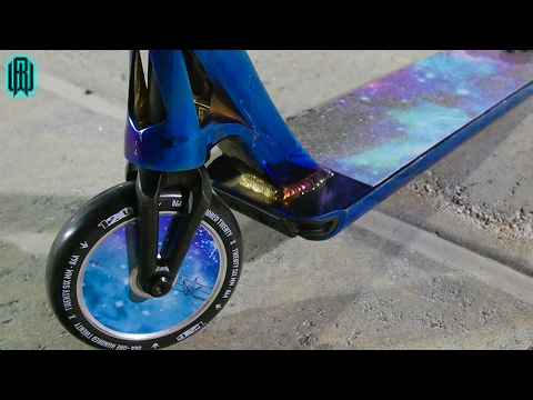 AWESOME GALAXY SCOOTER WHEELS!