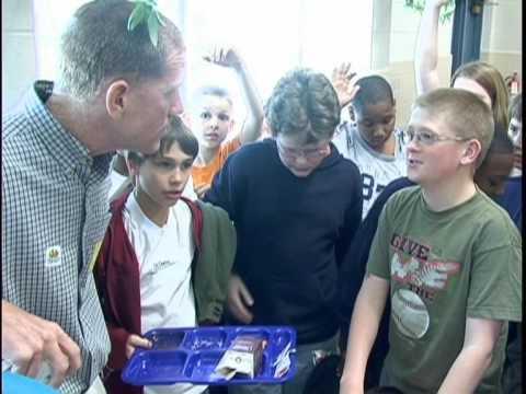 Farm to School VDACS Program at Randolph Elementary School Goochland, VA