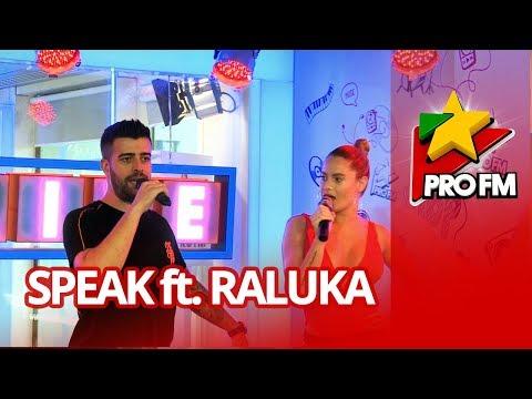 Speak feat. Raluka - Lasă-mă-mi place | ProFM LIVE Session