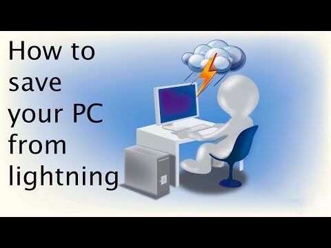HOW TO SAVE YOUR ELECTRONIC DEVICES FROM LIGHTNING