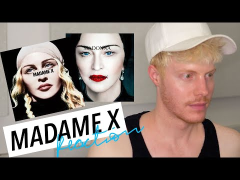 MADAME X  REACTION 🙌 MADONNA ANITTA MALUMA
