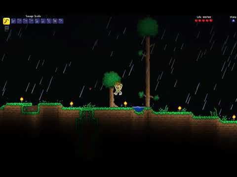 Terraria together with Skeethzer, have a seat