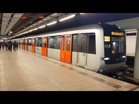 GVB R-net Amsterdam Metro december 2017