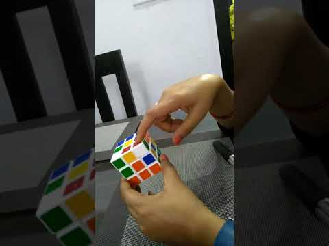 How to solve Rubik's cube 3×3×3