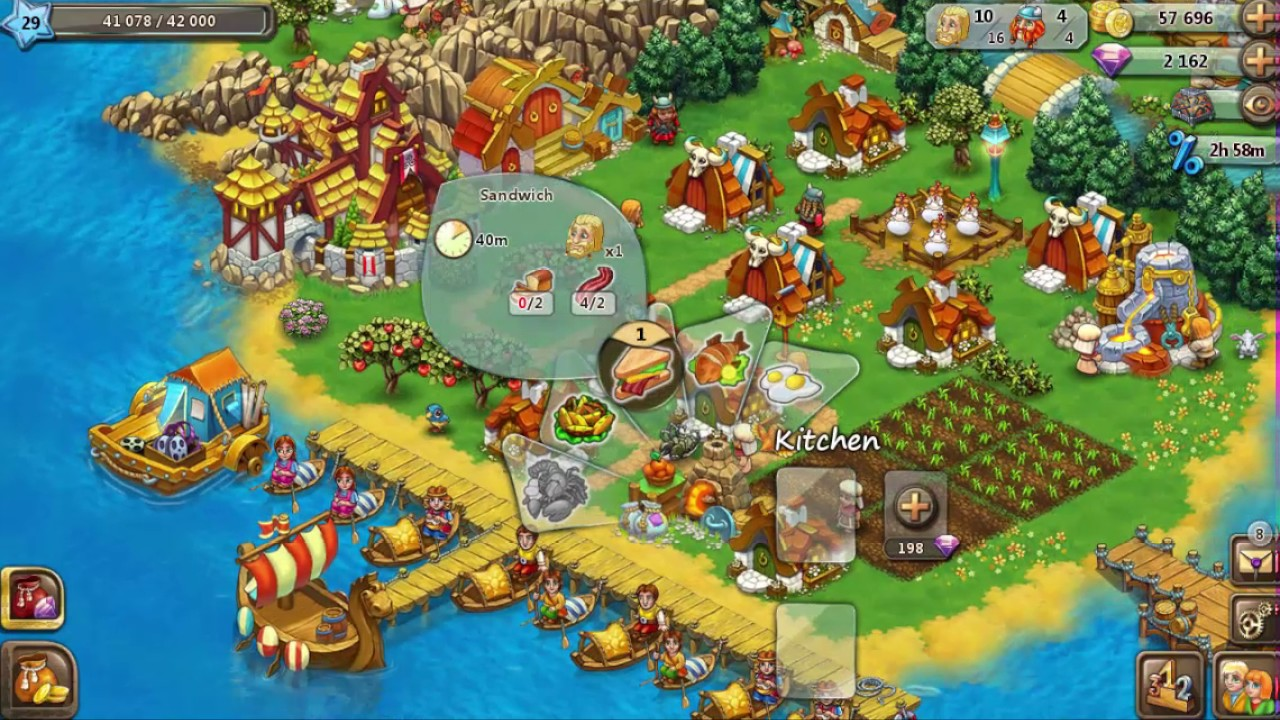 Harvest Land # 19 Reached Level 28 & Build Laboratory