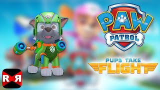 PAW Patrol Pups Take Flight - Rocky in Snowy Mountain - iOS / Android - Gameplay Video