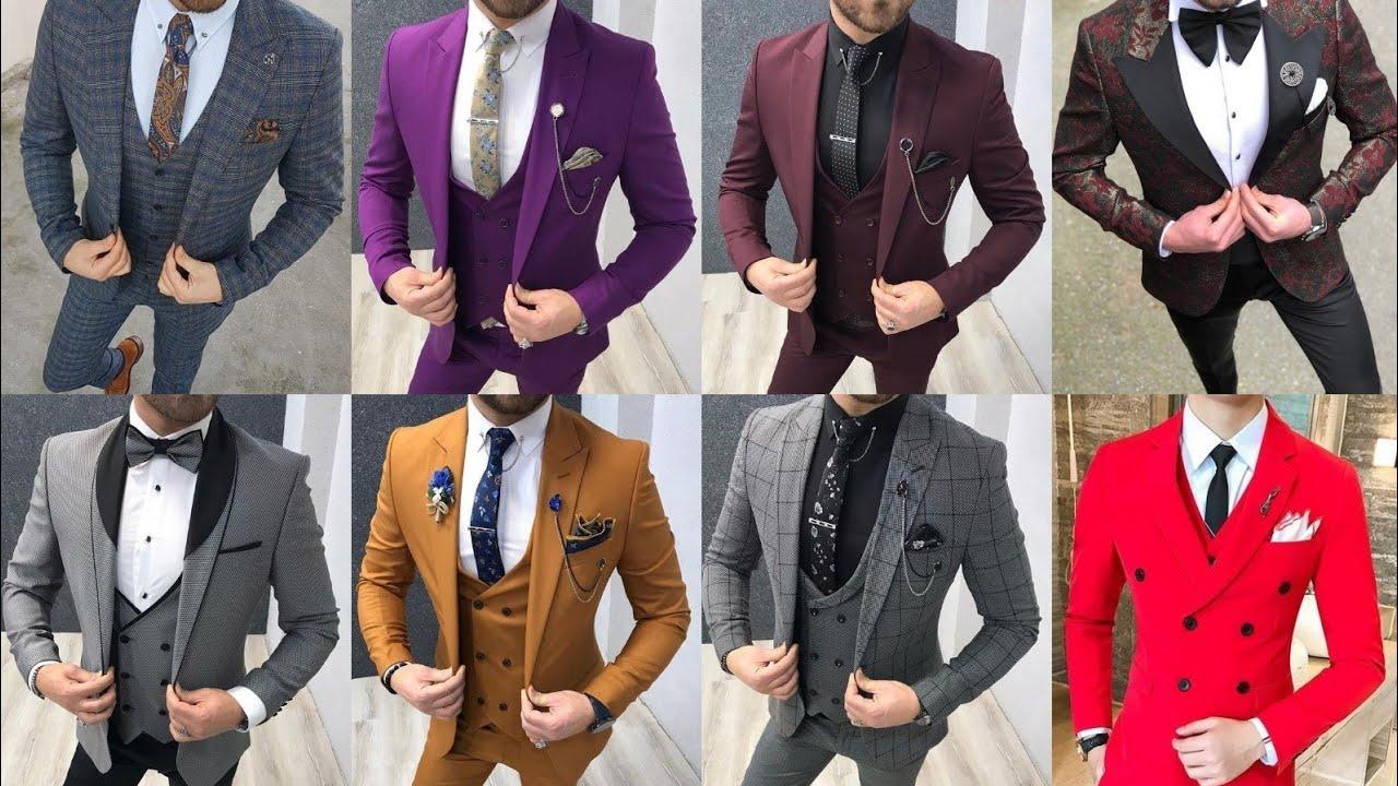 Latest Wedding Dress For Men 20   Men's Latest Wedding 20Piece Suit    Party Wear 20Piece Suit Design