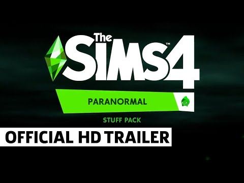 The Sims 4 Paranormal Stuff Pack Official Reveal Trailer