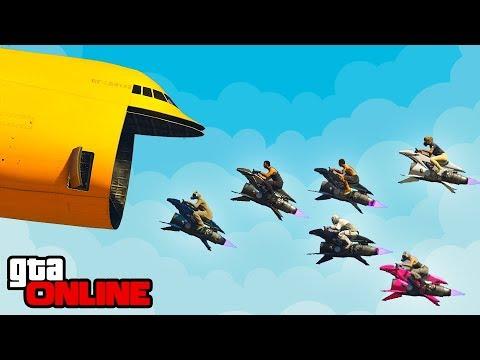 RACCOON SQUAD CLUBBIN' & STUNT FAILS! || GTA 5 Online || PC (Funny Moments) thumbnail