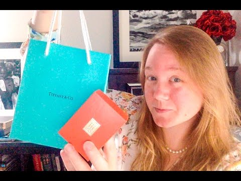 UNBOXING: Tiffany & Co. Charm || James Avery Charm Bracelet || Charm Collection || Autumn Beckman