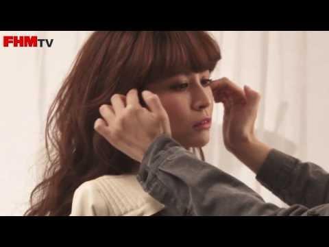 FHM 2013十二月號 Cover Girl 綁好,送到心坎裡 - 吳怡霈