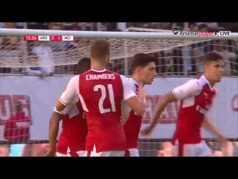 Download Arsenal vs Manchester City 3-2 Highlights All Goals RESUME Aguero, Walcott Goles   Friendly 7/8/2016