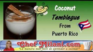 How To Make Coconut Tembleque From Puerto Rico