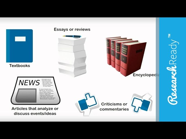 Primary And Secondary Sources Lessons Tes Teach