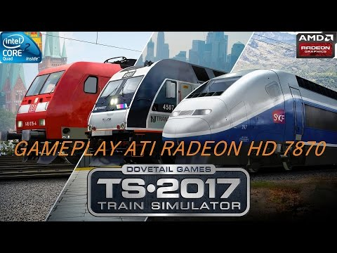 Train Simulator 2017 - Fast Gameplay - Pacific Surfliner/San Diego - HD 7870 |