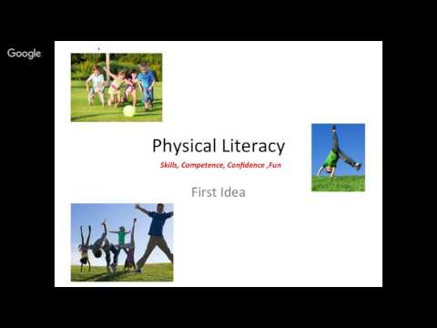Physical Literacy and Global Development in Children