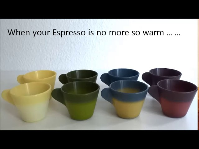 47°C Thermochromic Espresso Cup