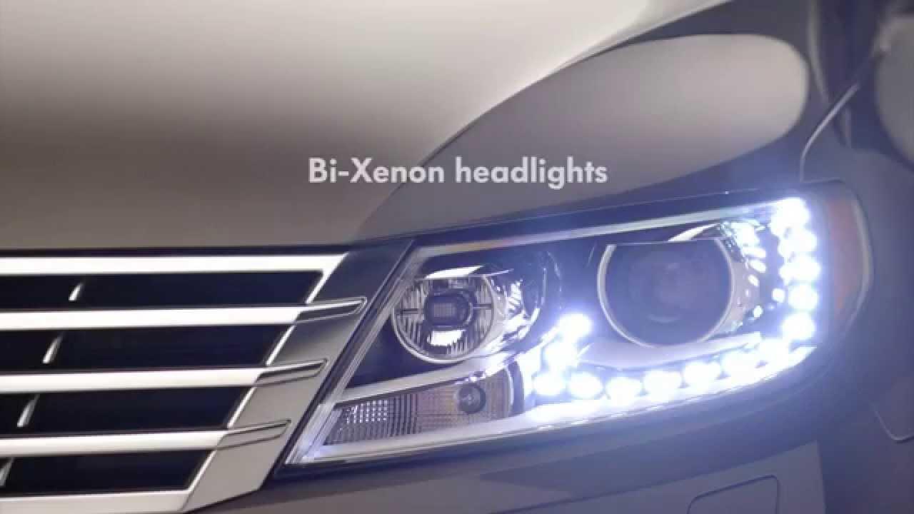 2015 Volkswagen CC Executive - Bi-Xenon Headlights - YouTube