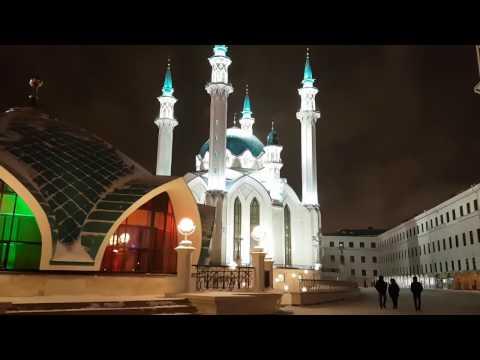 Новый год в Казани или Новогодняя Казань, Кремль, Республика Татарстан