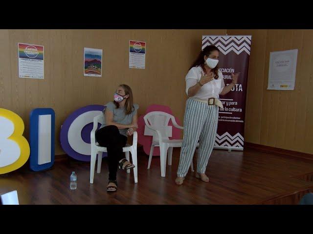 Cartaya Tv | Madres de la Asociación Chrysalli dan una charla sobre la