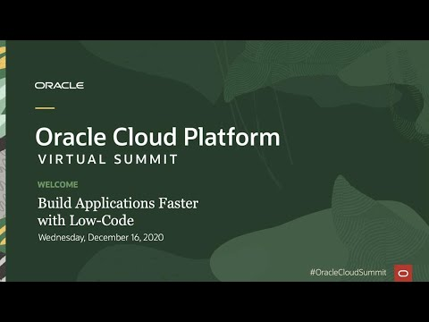 Build Applications Faster with Low Code - Full Event