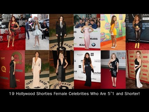 19 Hollywood Shorties Female Celebrities Who Are 5'1 and Shorter!