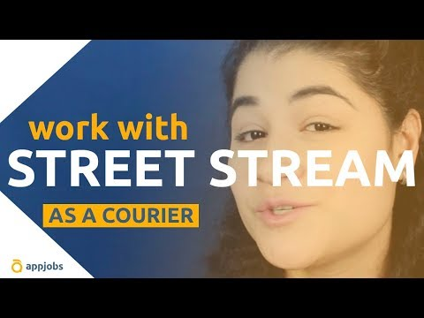 Be a courier with Street Stream | AppJobs.com
