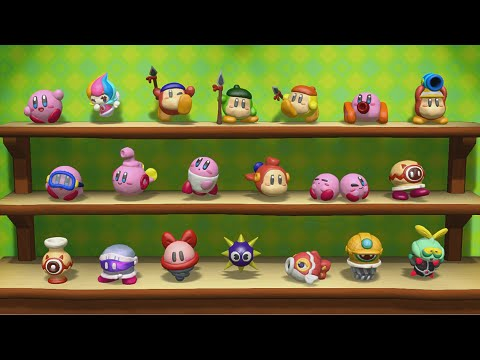 Kirby and the Rainbow Curse *All Figurines*