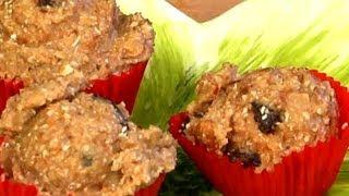 No-bake Oatmeal Breakfast Cookies Using Milled Flax Seed : Healthy Breakfast Items