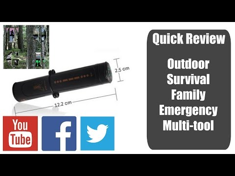 Outdoor Survival | Family Emergency Tool | multi tool