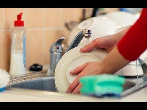 Как помыть  посуду - моем посуду без химии (идея 1)| #edblack