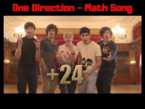 One Direction - Math Song lyrics