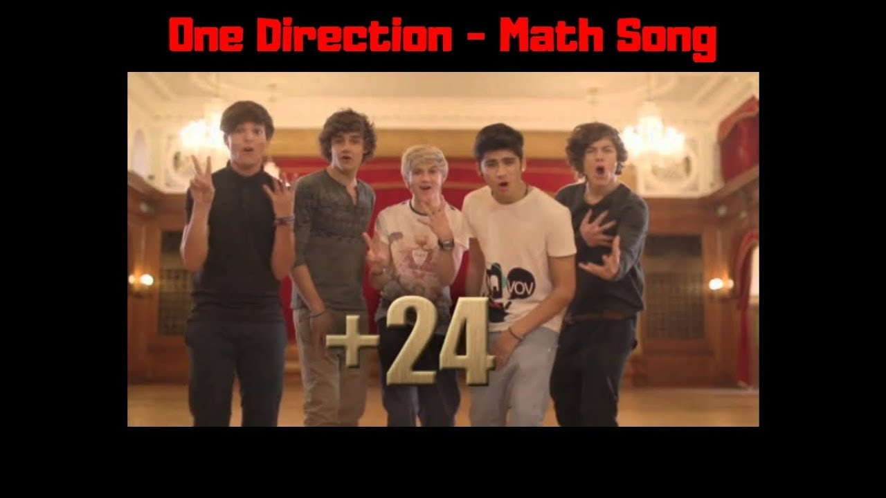 One Direction - Math Song lyrics - YouTube