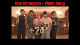 Repeat youtube video One Direction - Math Song lyrics