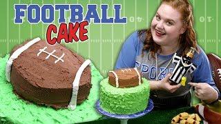 How to Make a Football Cake | Smart Cookie | Allrecipes.com