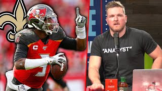 Pat McAfee Reacts To Jameis Winston Signing With The Saints