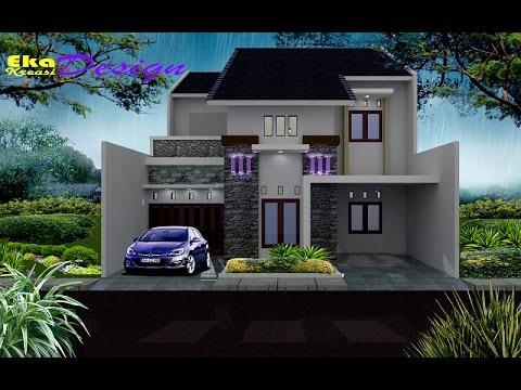 jasa desain arsitek rumah minimalis modern rumah bp