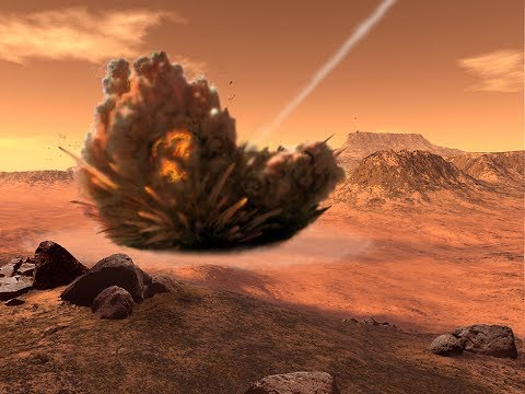 Scientist says: Mysterious Geological Formation of Planet Mars Caused by a Massive Asteroid Impact