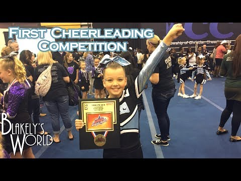 First Cheerleading Competition