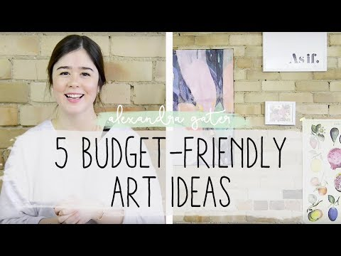 5-budget-art-ideas-+-how-to-hang-art-on-brick-walls