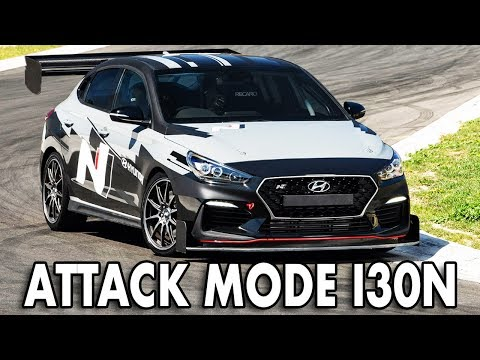 Hyundai's new i30 Fastback N track monster makes history at World Time Attack Challenge!