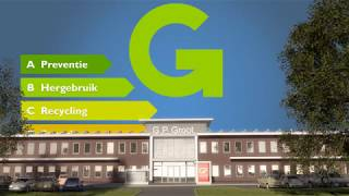 Duurzaamheid kantoorpand GP Groot / Sortiva Alkmaar