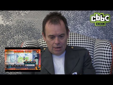 Celebs play the new Danger Mouse game! CBBC