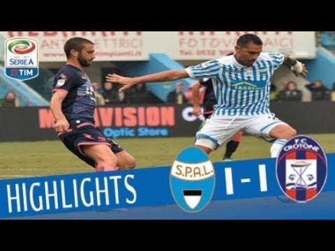 Spal - Crotone - 1-1 - Highlights - Giornata 7 - Serie A TIM 2017/18