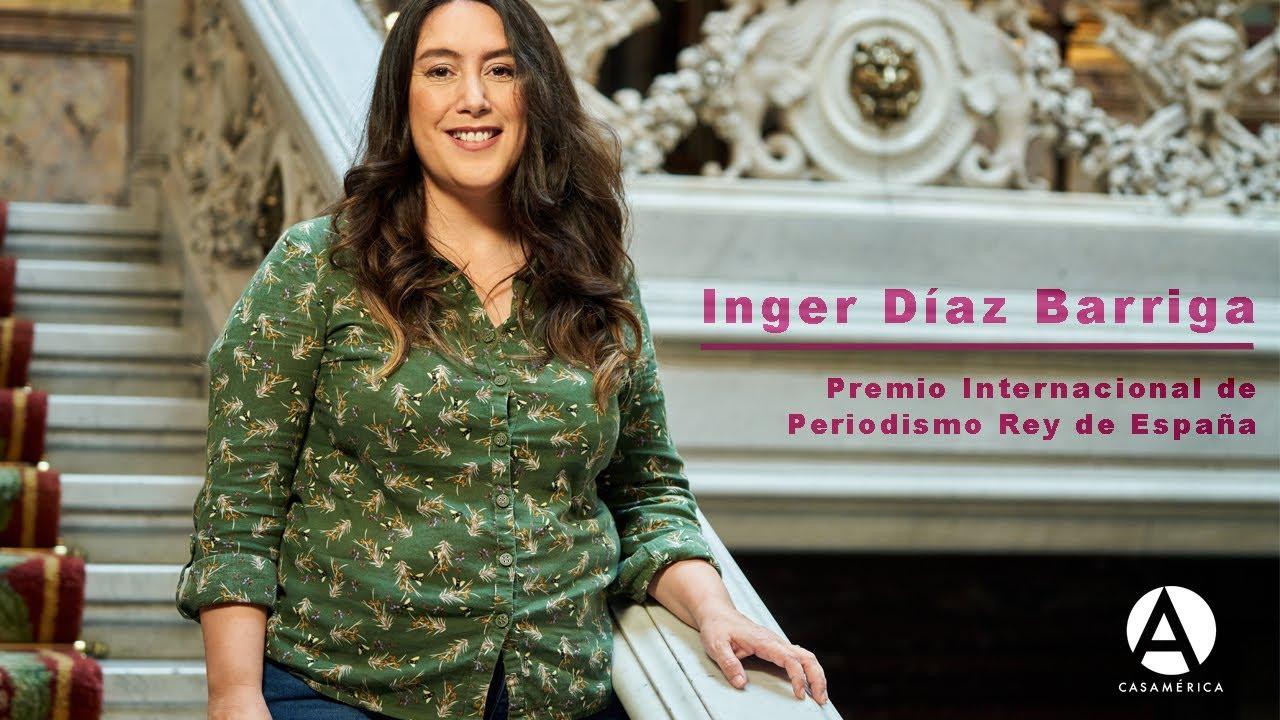 Inger Díaz Barriga. Premio de Periodismo Cultural