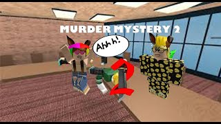 Murder Mystery fun in Roblox!